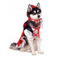 Rubie's Red Riding Hood Dog Costume - Small