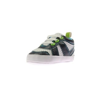Luvable Friends Sneakers Mesh Inset Cotton - 12-18 mo