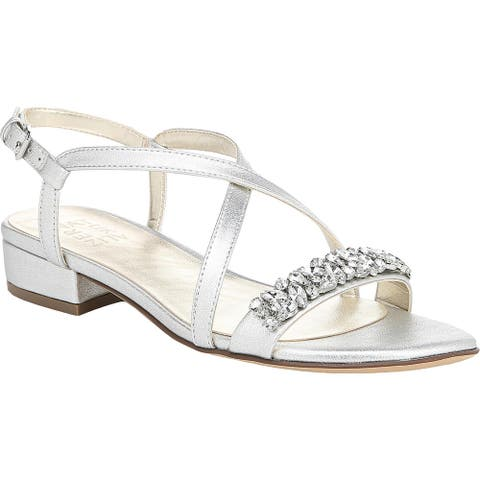 Naturalizer Womens Dress Sandals Rhinestone Open Toe