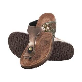 Legendary Whitetails Ladies North Point Big Game Camo Sandals - Bison