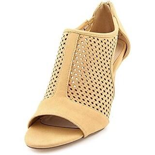 Style & Co Milaa Open Toe Heeled Ankle Booties