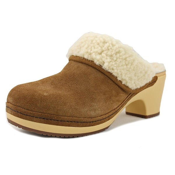 e16ab9bd2 Shop Crocs Sarah Luxe Round Toe Suede Clogs - Free Shipping On ...