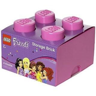 LEGO Storage Brick 4, Bright Purple (Friends) - Multi