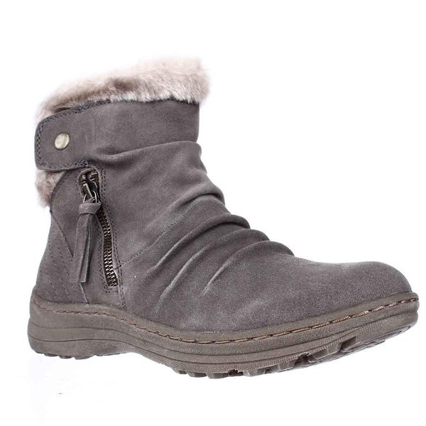 Bare Traps Womens Amelya Leather Closed Toe Ankle Cold Weather Boots