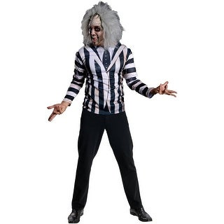 Beetlejuice Costume Kit Adult One Size - Black