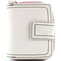 Leather Zip Around Clutch Wallet