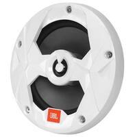 6.5 in. 225W Coaxial Marine Speaker - NonIlluminated White Grill