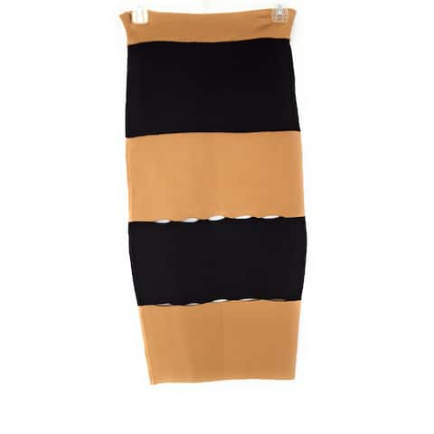 Kendall + Kylie Skirt, Macaroon/Black, Small