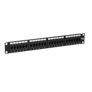 ICC ICMPP24CP6 Cat 6 24-Port Feed-Through Patch Panel