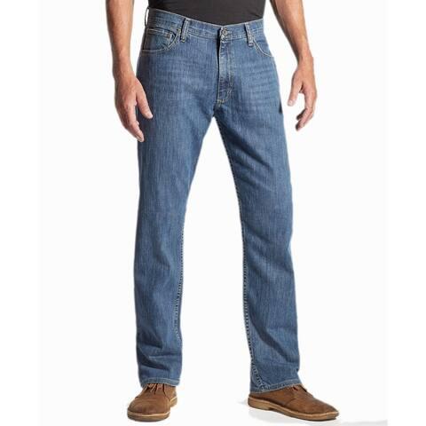 Wrangler Men's Advanced Comfort Regular Fit Jeans, Dark Stonewash, 31x30 - 31