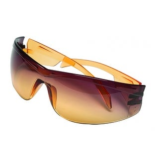 MSA Safety Works 10105402 Yellow Jacket Safety Glasses with Amber Lens