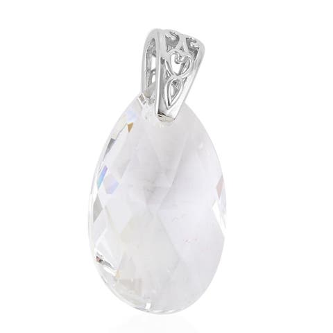 Shop LC Platinum Made with Swarovski Crystal Pendant Jewelry Gift