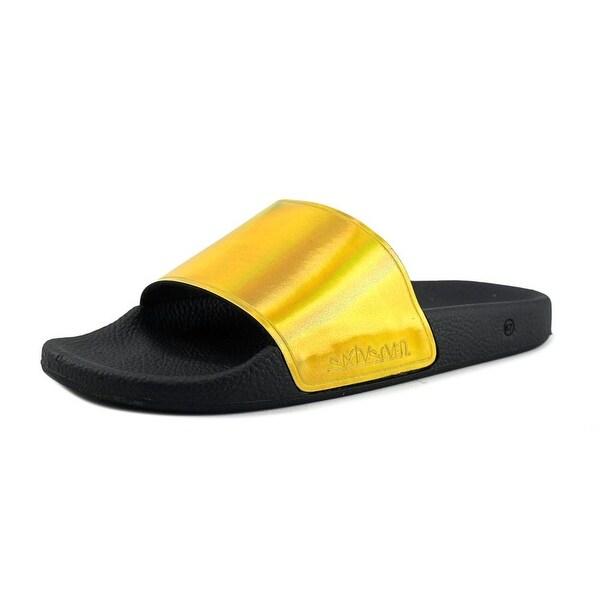 Sixtyseven 77021 Open Toe Leather Slides Sandal