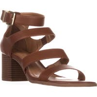 SC35 Naomii Strappy Heeled Sandals, Umber
