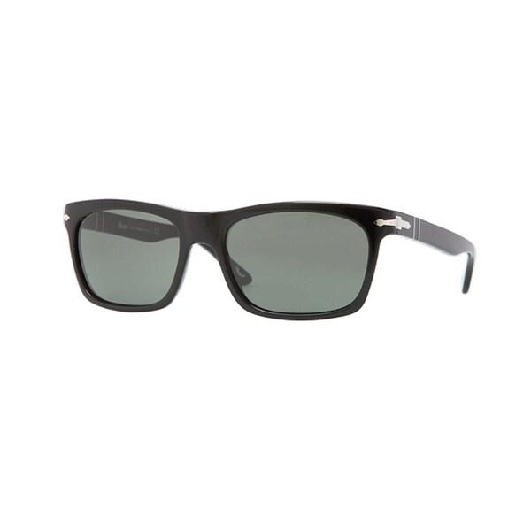 Persol Suprema PO3062S-95/31 Black Frame Grey Crystal Lens Sunglasses