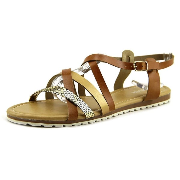 ShoeVibe Donna Women Open Toe Synthetic Sandals
