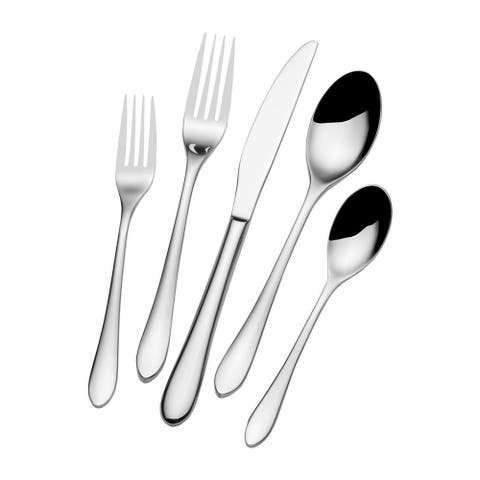 Towle Living Forged Brynlry 45 Pc Flatware Set
