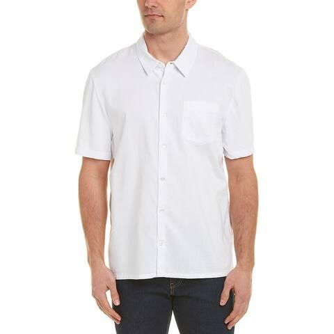 James Perse Mixed Media Shirt