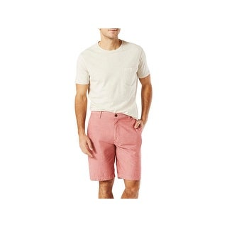 Dockers Mens Shorts Pleated Flat Front
