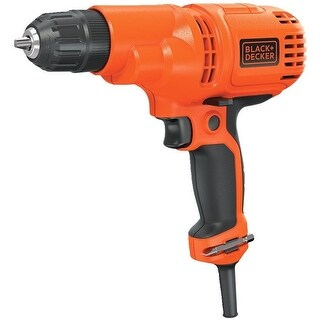 Black & Decker DR260C Keyless Variable Speed Corded Drill, 3/8""