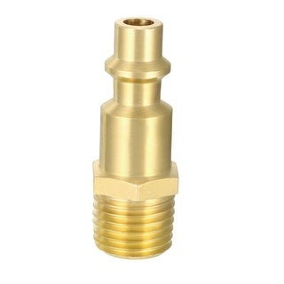 "Quick Coupler Air Quick-Connect Fitting 1/4-Inch NPT Male Thread Plug Pack of 1 - 1/4""NPT Male Quick Coupler"