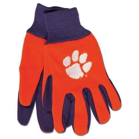 McArthur 9960695975 Clemson Tigers Two Tone Glove Adult