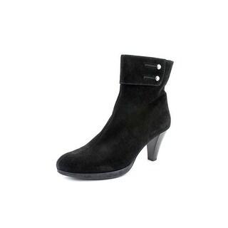 La Canadienne Mila Women  Round Toe Suede  Ankle Boot
