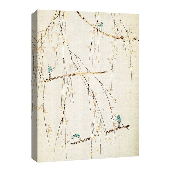 """PTM Images 9-126693 PTM Canvas Collection 8"""" x 10"""" - """"Moving Japan"""" Giclee Branches Art Print on Canvas"""