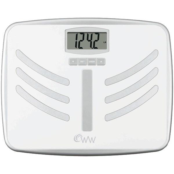 Conair Ww66Npdq Wide-Platform Weight Watchers(R) Body Analysis Scale