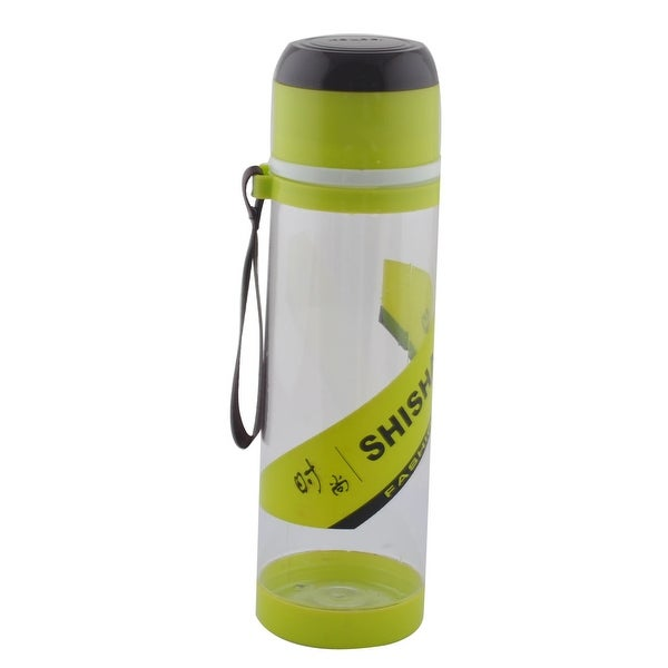 Camping Plastic Detachable Tea Strainer Sport Water Bottle Cup Mug Green 760ML