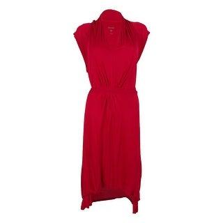 Kensie Women's Cap Sleeve Hi-Low Dress (2 options available)