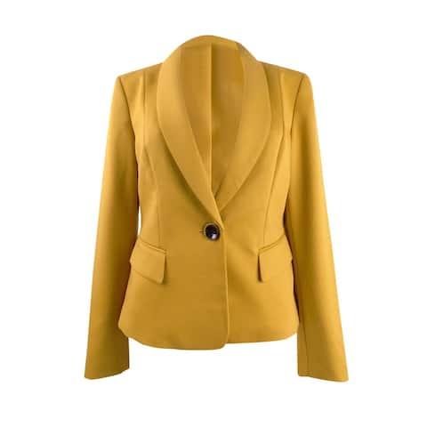 Kasper Women's Shaw-Collar One-Button Blazer