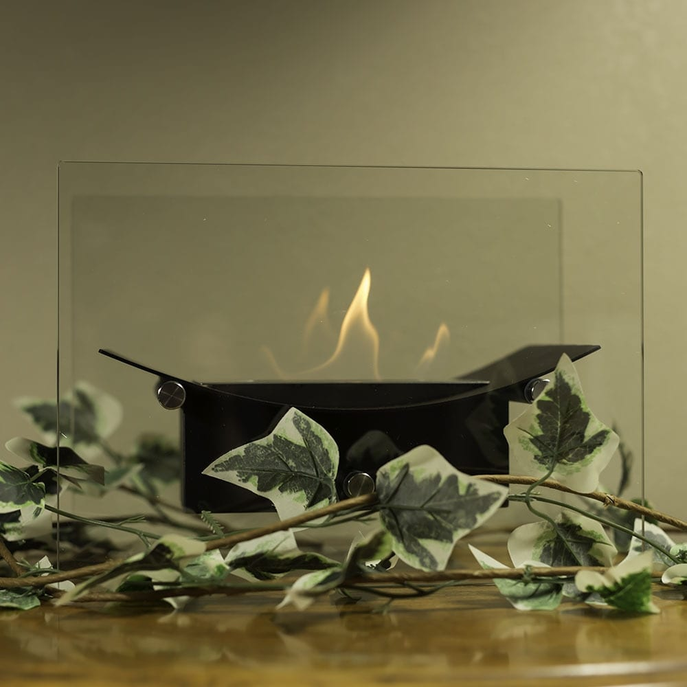 Sunnydaze Zen Ventless Tabletop Bio Ethanol Fireplace, Options Available - Thumbnail 0