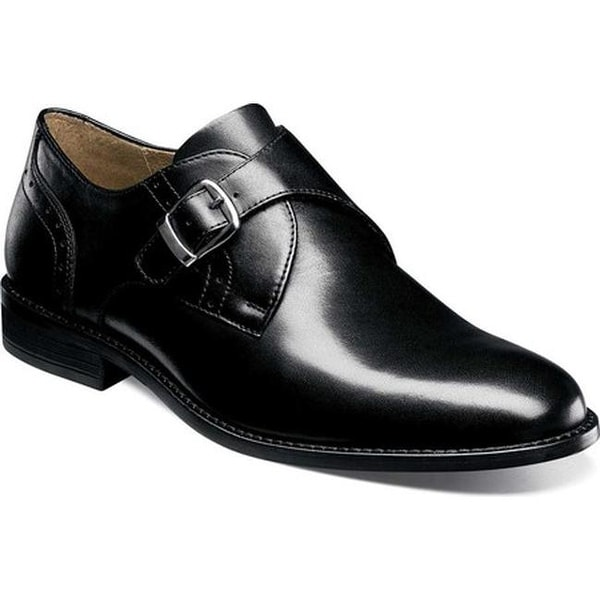 Shop Nunn Bush Men S Jefferson Black Smooth Leather Free