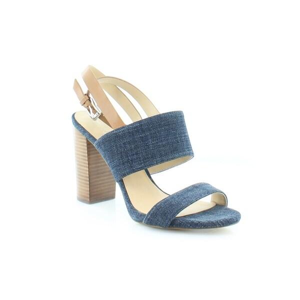 Michael Kors Arden Sandal Women's Sandals & Flip Flops Indigo/Acrn - 9.5
