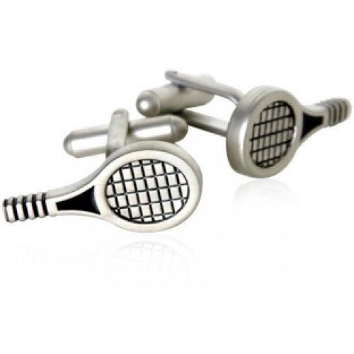 Tennis Racquet Sports Athlete Tennis Player Cuff Links