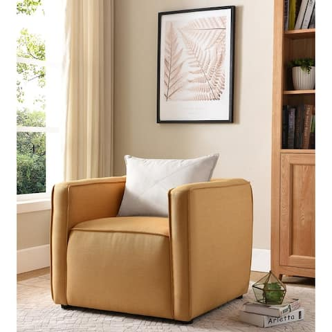 Furniture of America Dack Contemporary Fabric Upholstered Accent Chair