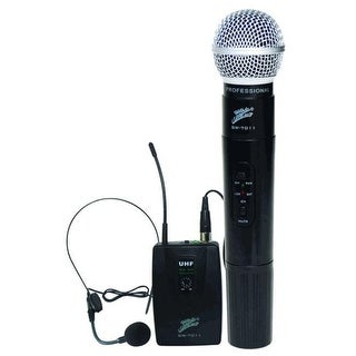 Zebra GW7011 Wireless Microphone- System 2 Channels FM