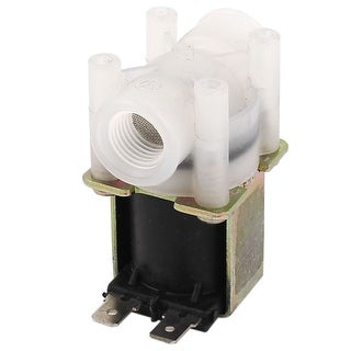 """DC 24V 1/4"""" Thread RO Reverse Osmosis Pure System Feed Water Solenoid Valve"""