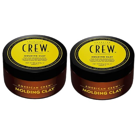 American Crew Molding Clay 3 Ounce Pack of 2