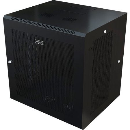 Startech - Use This Wall Mount Network Cabinet To Mount Your Server Or Networking Equipment