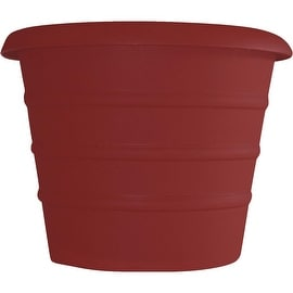 "Myers 8"" Red Marina Pot"