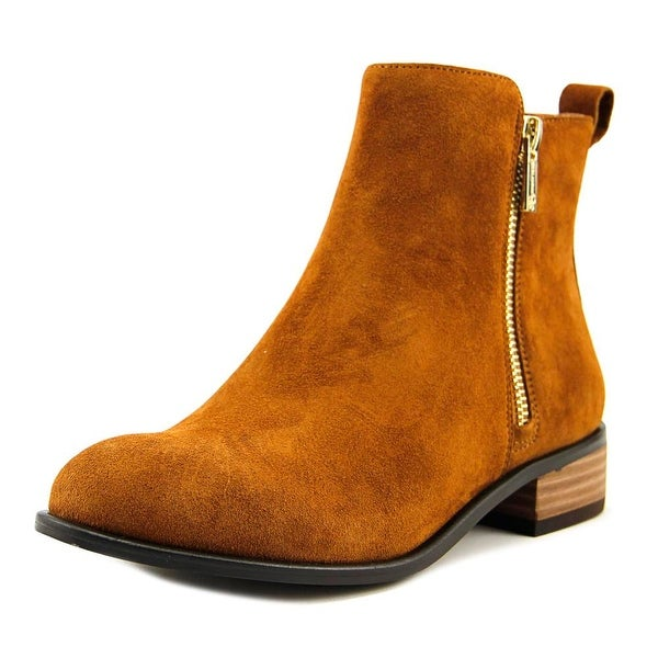 Jessica Simpson Kesaria Women Round Toe Suede Brown Ankle Boot