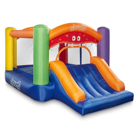 Monster Theme Bounce House with Slide and Blower by Cloud 9