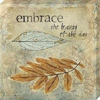 11 x 11 in. Embrace Canvas Gallery Wrapped Art Print