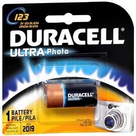 Duracell Ultra Photo Battery 3 Volt 123 1 Each