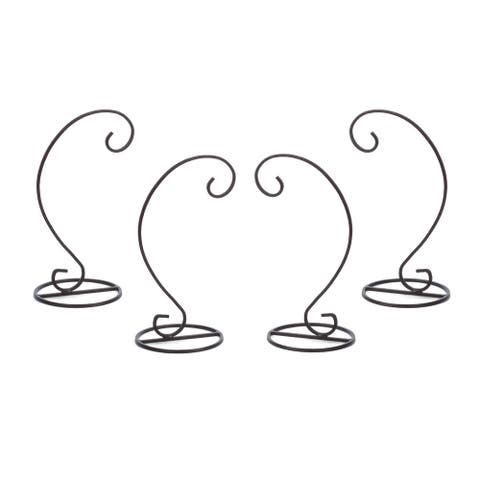 Harp Ornament Stand, Set of 4