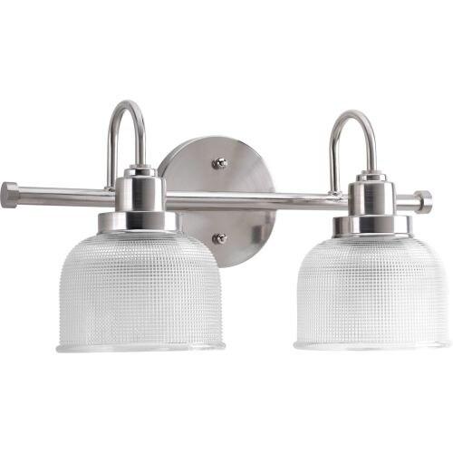 Miseno MLIT7703 Bella 2-Light Bathroom Vanity Light - Reversible Mounting Option