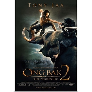 Poster Print entitled Ong Bak 2 - Movie Poster -
