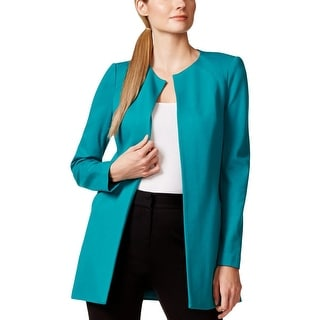 Laundry by Shelli Segal Womens Blazer Long Sleeves Solid
